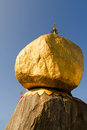 Kyaiktiya pagoda golden rock myanmar Royalty Free Stock Photos