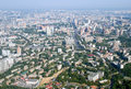 Kyiv city - aerial view. Stock Photography