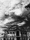 The Kyiv Opera House in black and white - Kiev - Ukraine - Capital City