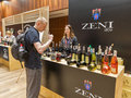 Kyiv Wine Festival in Kiev, Ukraine. Royalty Free Stock Photo