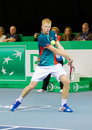 Kyle Edmund at Zurioch Open 2012 Royalty Free Stock Photo