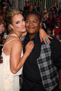 Kyle Massey,Lacey Schwimmer Stock Photography