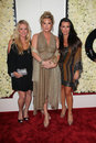 Kyle Richards, Kim Richards, Kathy Hilton, Four Seasons Stock Images