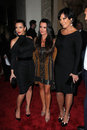 Kyle Richards, Kris Jenner, Kim Kardashian, Four Seasons Stock Image