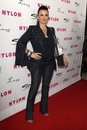 Kyle richards los angeles mar arriving at the nylon magazine th anniversary issue party at tru hollywood on march in los angeles Royalty Free Stock Photos