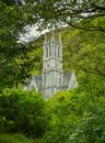 Gothic Church near Kylemore Abbey, County Galway, Ireland Royalty Free Stock Photo