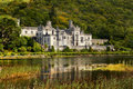 Kylemore Abbey in Connemara, County Galway, Ireland. Royalty Free Stock Photo