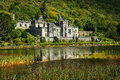 Kylemore Abbey in Connemara, County Galway, Ireland Royalty Free Stock Photo