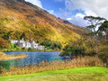 Kylemore Abbey in Connemara, County Galway, Ireland, Europe Royalty Free Stock Photo
