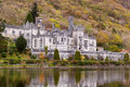 Kylemore Abbey in Connemara mountains Royalty Free Stock Image