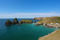 Kynance cove in Cornwall Royalty Free Stock Photo