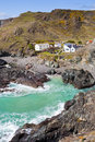 Kynance Cove Cornwall England Stock Photos