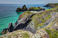 Kynance Cove Royalty Free Stock Photo