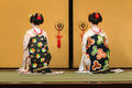 Kyomai dance performed by maiko in kyoto japan november japan on november unidentified performs which adopted the elegance Stock Images