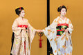 Kyomai dance performed by maiko in kyoto japan november japan on november unidentified performs which adopted the elegance Stock Photos