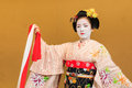 Kyomai dance performed by maiko in kyoto unidentified apprentice geisha performs which adopted the elegance and of the imperial Stock Images
