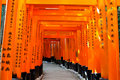 Kyoto Fushimi Inari Torii Gate Japan Royalty Free Stock Photos