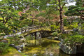 Kyoto imperial palace beautiful japanese garden in the japan Stock Photos