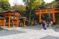 Kyoto, Japan at Fushimi Inari Shrine