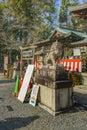 Shintoism Temple, Kyoto, Japan Royalty Free Stock Photo