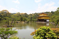 Kyoto japan kinkakuji temple the golden pavilion in Royalty Free Stock Images