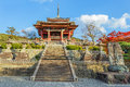 Kyoto japan november kiyomizu dera founded in heian on period the present building was constructed Stock Image
