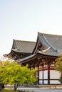 Kyoto, Japan at Toji temple Royalty Free Stock Photo