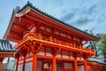 Kyoto japan yasaka shrine hdr image old landmark Stock Images