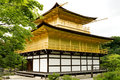Kyoto may kinkakuji temple on may kyoto japan kinkakuji the golden pavilion temple in kyoto japan world heritage site Stock Image