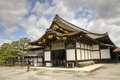 Kyoto nijo castle japan old japanese architecture of ninomaru palace Royalty Free Stock Image