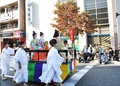 KYOTO - OCT 22: The Jidai Matsuri Royalty Free Stock Photography