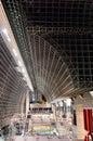 Kyoto railway station, Japan. Royalty Free Stock Photo