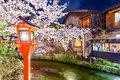 Kyoto in Spring Royalty Free Stock Photo