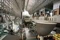 Kyoto station.Japan Royalty Free Stock Image