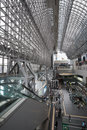 Kyoto Station in Japan Royalty Free Stock Photo