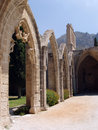 Kyrenia, Cyprus - Bellapais Abbey Arches Stock Photography