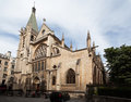 Kyrklig paris saintseverin Royaltyfri Foto
