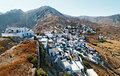 Kythnos island village Royalty Free Stock Photography