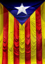 L'Estelada, l'indicateur catalan Photo libre de droits