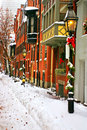 L'hiver de Boston Photo stock