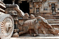 L'Inde Sud-Inde : Temple de Darasuram Photo stock
