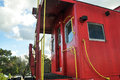 L&M Caboose Royalty Free Stock Photo