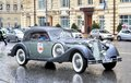 L u c chopard classic weekend rally moscow russia june german motor car horch competes at the annual on june in moscow russia Stock Photo