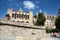 La Almudaina Palace in Palma de Mallorca Royalty Free Stock Photo