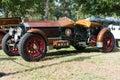 La Bestioni car on display Royalty Free Stock Photo