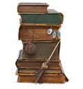 La biblioteca de la bruja Imágenes de archivo libres de regalías