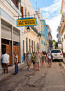 La Bodeguita del Medio  in Havana Royalty Free Stock Photos