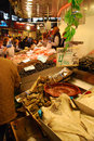 La boqueria barcelona spain december in barcelona december in barcelona spain this famous market is located nearthe ramblas and Stock Photo