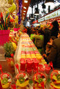 La boqueria barcelona spain december in barcelona december in barcelona spain this famous market is located nearthe ramblas and Royalty Free Stock Image
