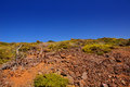 La Caldera de Taburiente mountain La Palma Royalty Free Stock Photography